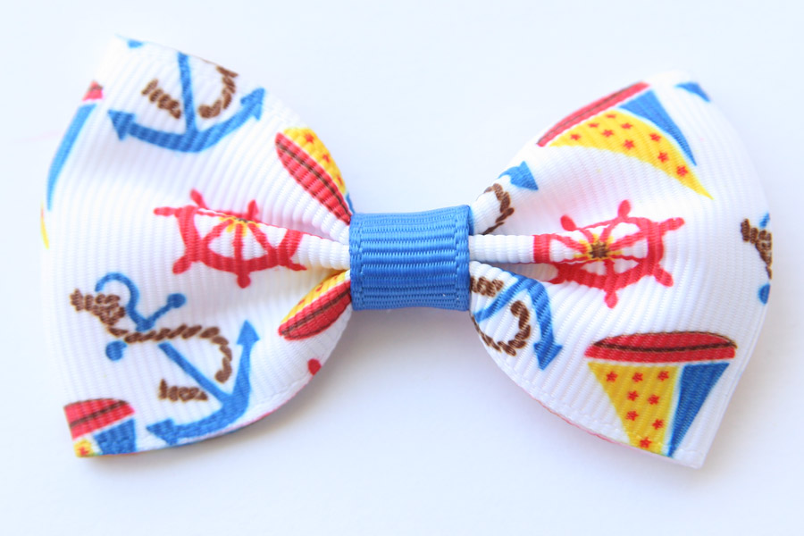 Big Beautiful Bow Nautical Print